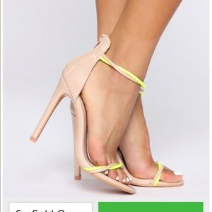 Fashion nova heels size 8